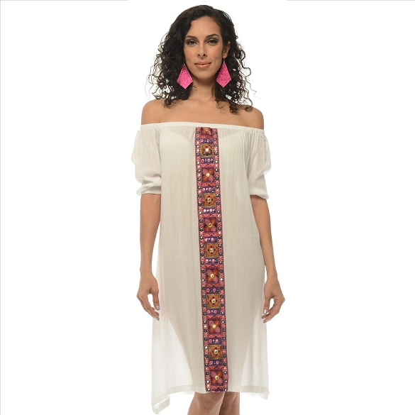 Not Your Average Shift Dress - White