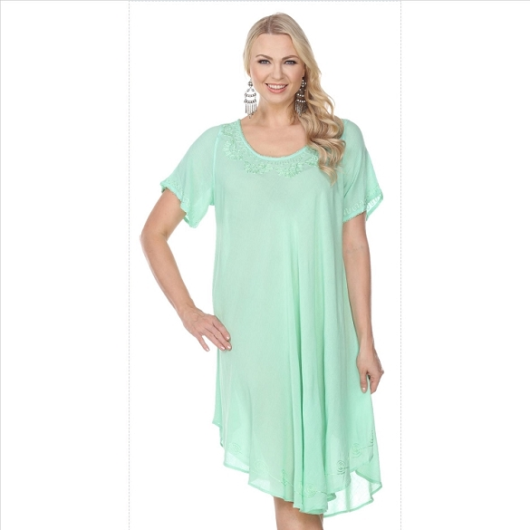 Back to Basics Umbrella Dress - Mint