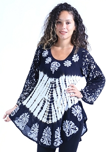 Trendy Boho Tunic - Black
