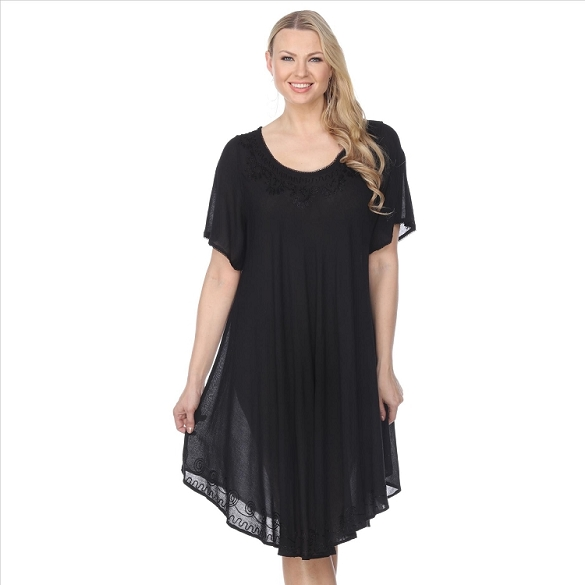 Back to Basics Umbrella Dress - Black