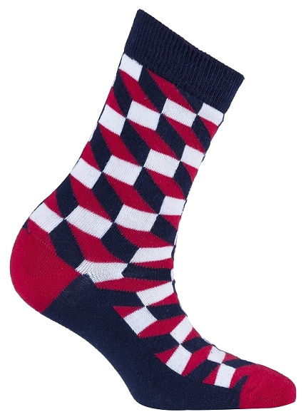 Women's Pattern Crew Socks #4069