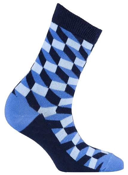 Women's Pattern Crew Socks #4070