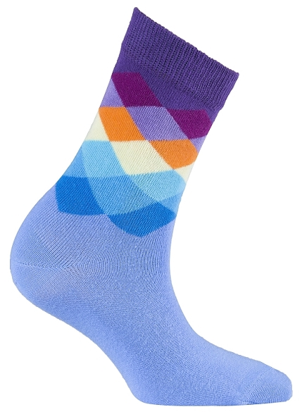 Women's Diamond Crew Socks #4016