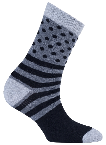 Women's Dot Stripe Socks #4032