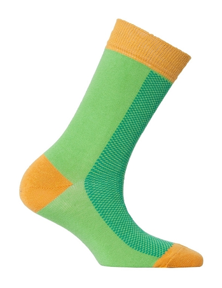Women's Solid Crew Socks #4092