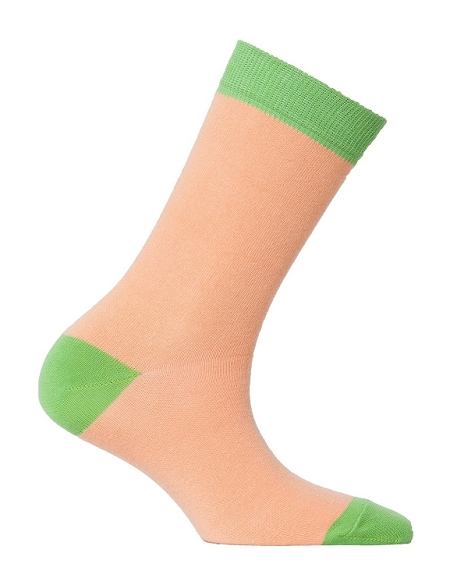 Women's Solid Crew Socks #4093