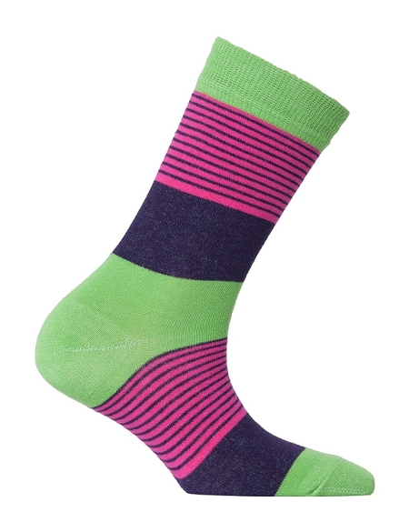 Women's Solid Crew Socks #4094