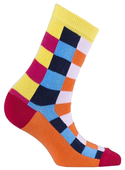 Women's Square Crew Socks #4072