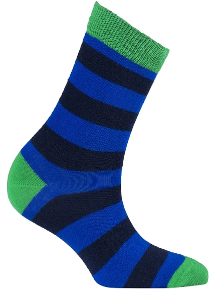 Women's Stripe Crew Socks #4073