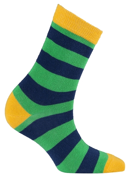 Women's Stripe Crew Socks #4075