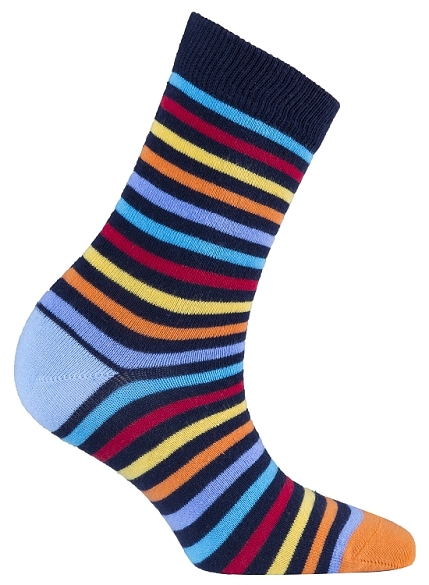 Women's Stripe Crew Socks #4078