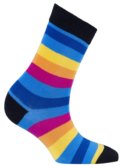 Women's Stripe Crew Socks #4080