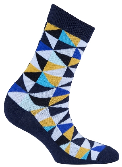 Women's Triangle Crew Socks #4058