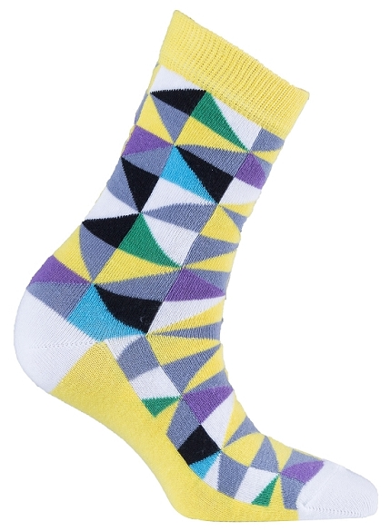 Women's Triangle Crew Socks #4059