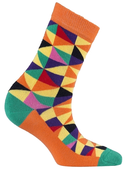 Women's Triangle Crew Socks #4060
