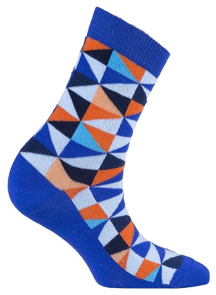 Women's Triangle Crew Socks #4062