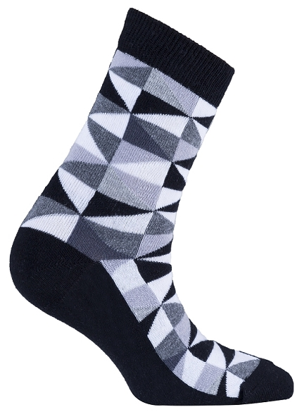 Women's Triangle Crew Socks #4063