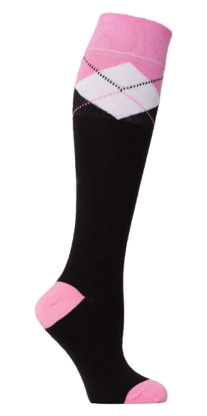 Women's Argyle Knee Highs #4144