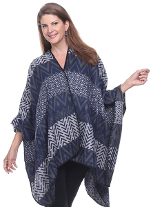 Amazing Colors and Shapes Cape - Navy