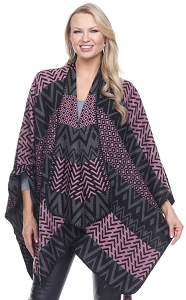 Amazing Colors and Shapes Cape - Pink