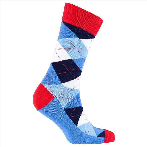 Men's Argyle Socks #1019