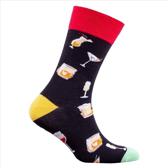 Men's Alcohol Socks #1308