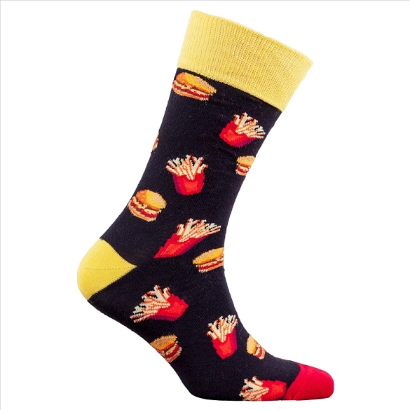 Men's Fast Food Socks #1337