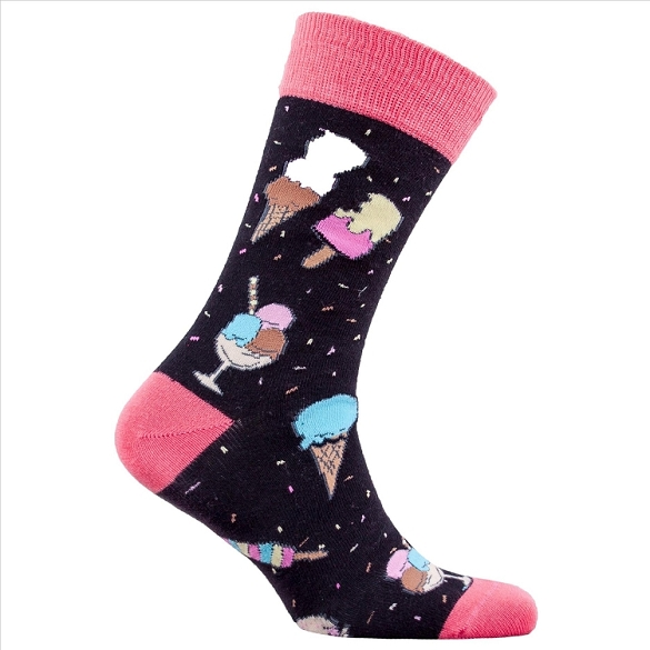 Men's Ice Cream Socks #1342