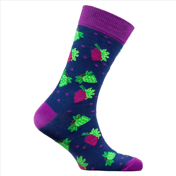 Men's Grapes Socks #1344