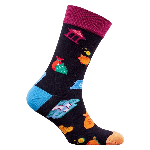 Men's Dollars Socks #1360