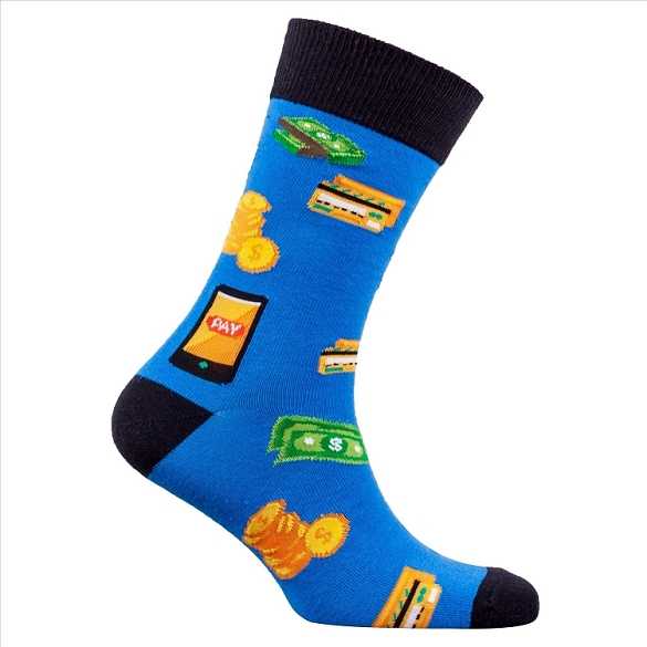 Men's Money Socks #1362