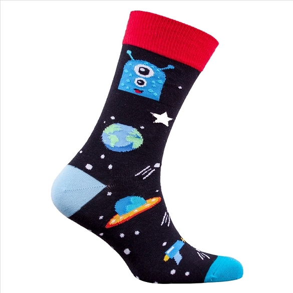 Men's Planet Socks #1377