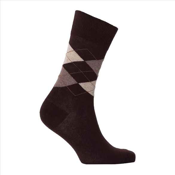 Men's Argyle Socks #1003