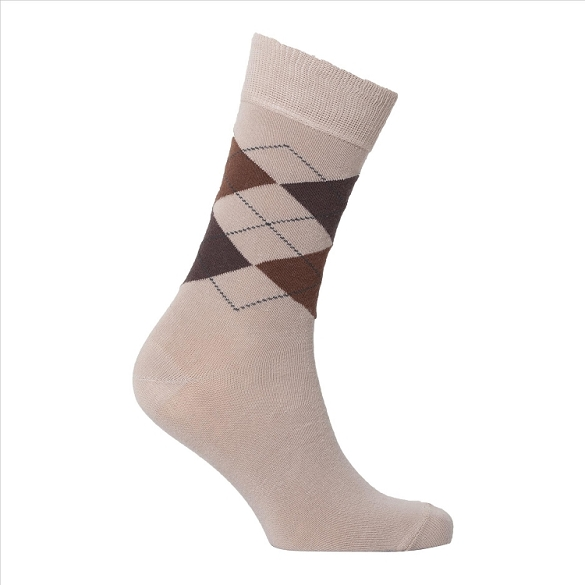 Men's Argyle Socks #1004