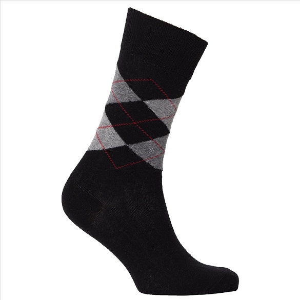 Men's Argyle Socks #1005