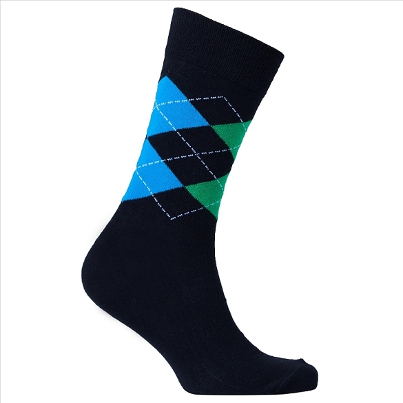 Men's Argyle Socks #1010