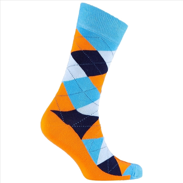 Men's Argyle Socks #1012
