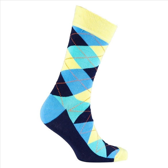Men's Argyle Socks #1013