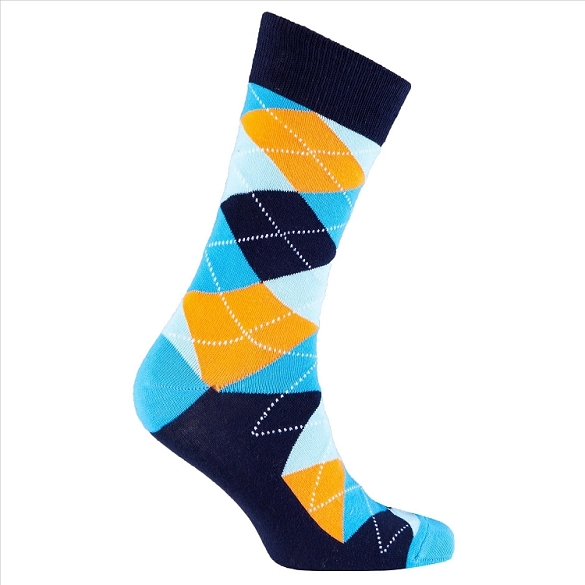 Men's Argyle Socks #1017