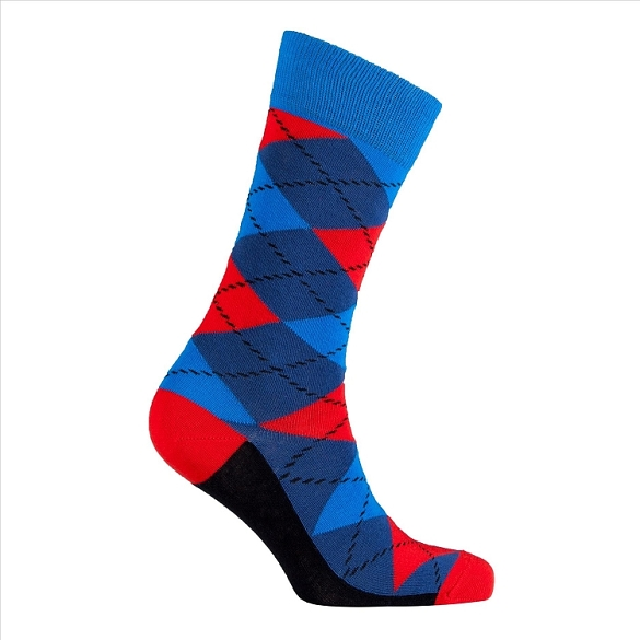 Men's Argyle Socks #1021