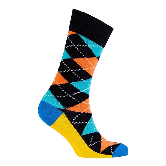 Men's Argyle Socks #1022
