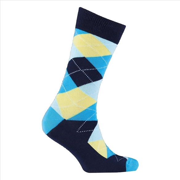 Men's Argyle Socks #1030