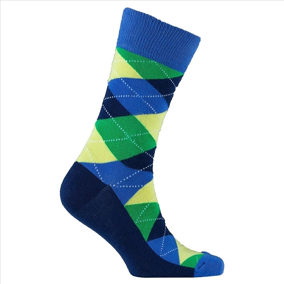 Men's Argyle Socks #1031