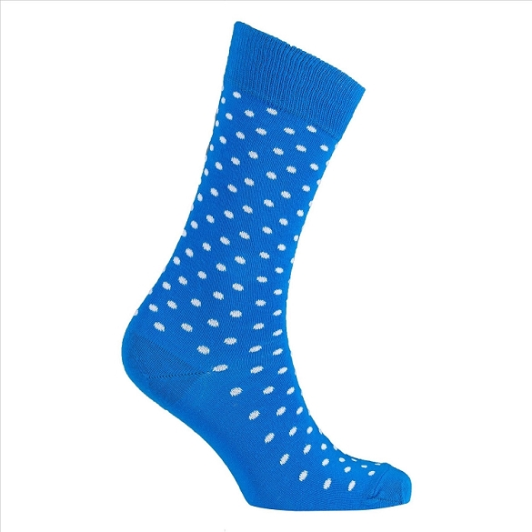 Men's Polka Dot Crew Socks #1074