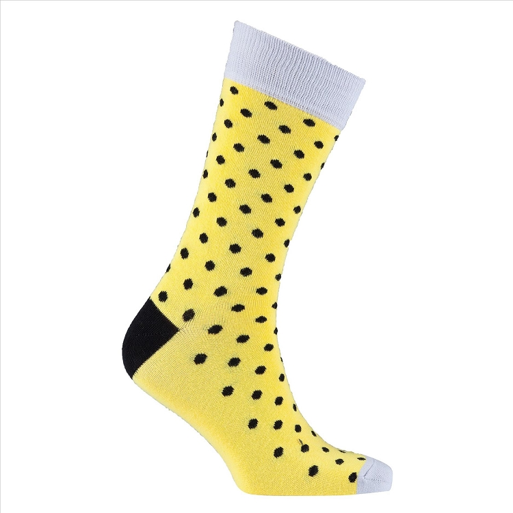 Men's Polka Dot Crew Socks #1077