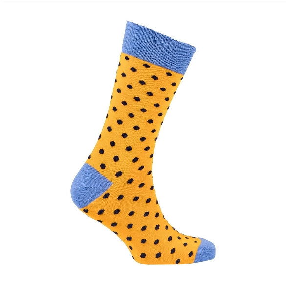 Men's Polka Dot Crew Socks #1078