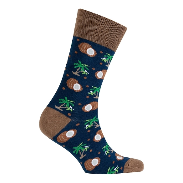 Men's Fruit Crew Socks #1105