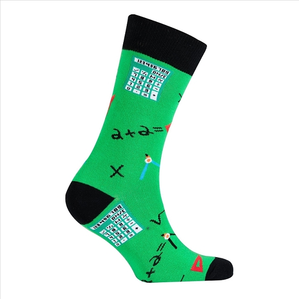Men's Science Crew Socks #1120