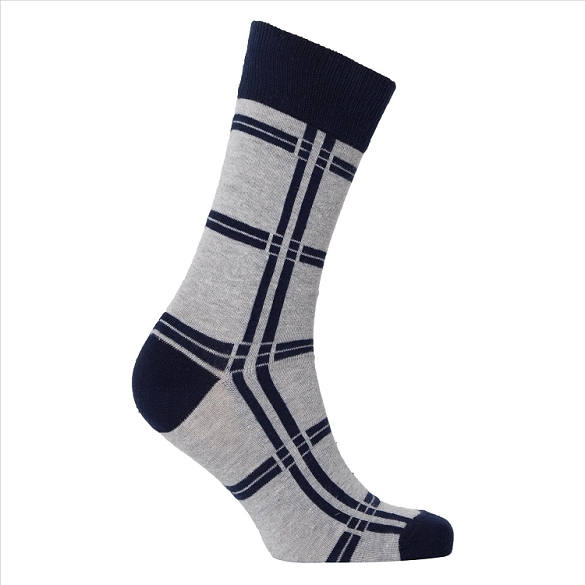 Men's Patterned Crew Socks #1144