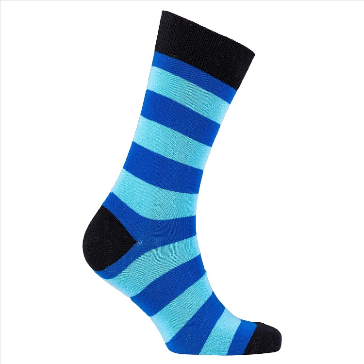 Men's Striped Crew Socks #1196